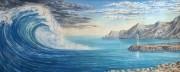 Movement. (1996) 55х136 (oil on canvas)