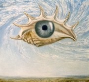 The Observer. (1996) 80х80 (oil on canvas)