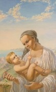 Ave Maria. (1999 ) 70х112 (oil on canvas)