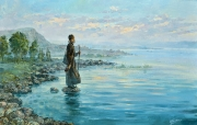 Море Галилейское. (2014 г) 70х110 (холст/масло)
