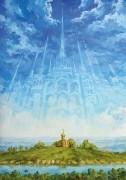 Храм (1997 г) 100х70 (холст, масло)