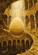 Познание. (2006 г) 70х50 (холст, масло)