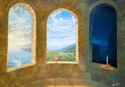 The Three Windows.  (2005) 70х100 (oil on canvas)