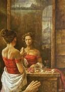 The Old Mirror. (2011)  80х110 (oil on canvas)