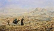 Бегство в Египет. (2015 г) 60х100 (холст, масло)