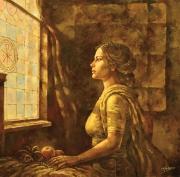 Жемчужное Ожерелье. (2009г) 80х80 (холст, масло)