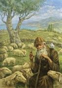 Пастырь Добрый. Святитель Спиридон Тримифунтский (2018 г) 70х100 (холст/масло)