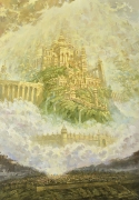 Небесный Град Иерусалим. (2019) 100х70 (холст, масло)