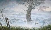 В Тумане. (2012 г) 60х100 (холст, масло)