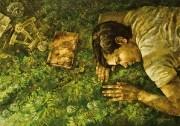 Божия коровка, улети на Небко... (2013 г) 70х100 (холст, масло)